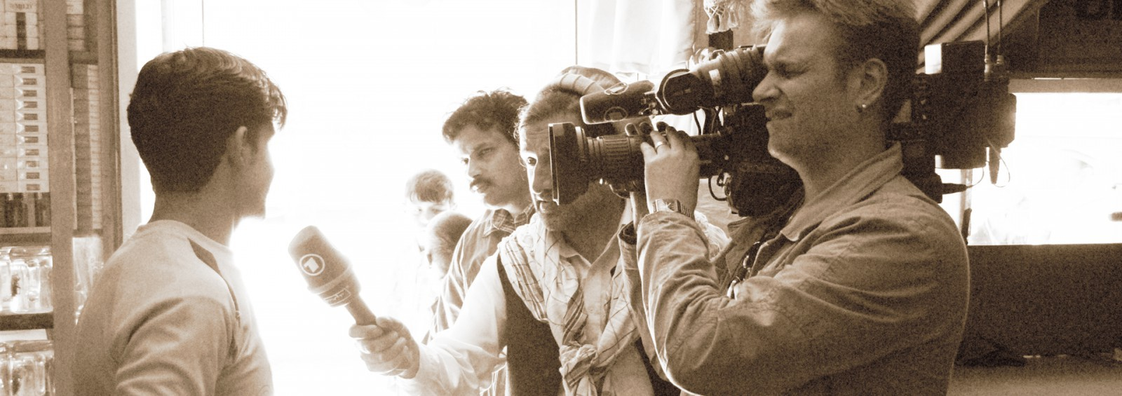 redaktion, eb teams, eng teams, backfocus, India, Asia, Indien, film ploeg, redactie, bbs, Kabul, Afghanistan, Weltspiegel